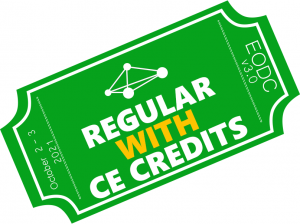 e-Ticket WITH CE credits